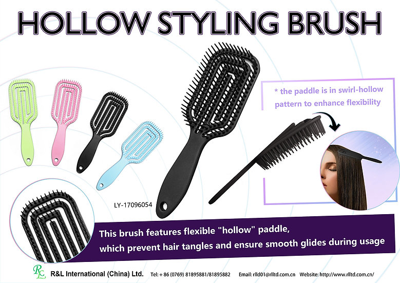 Hollow Styling Brush