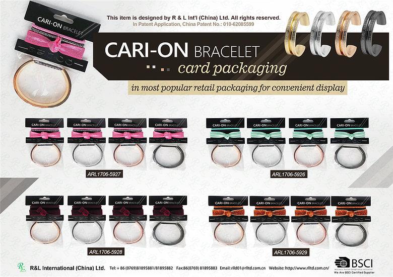 CARI-ON BRACELET-card packaging