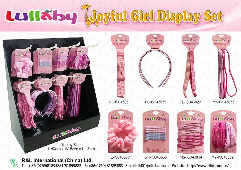 Lullaby Joyful Girl Display Set