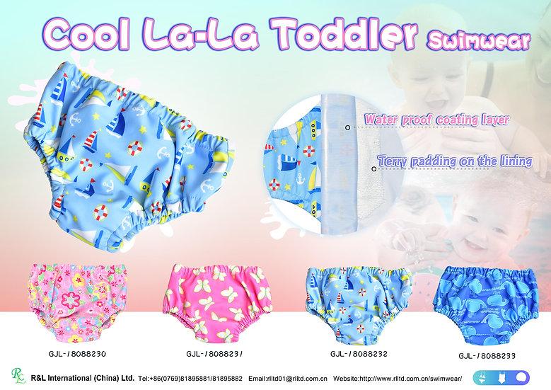 Cool La-La Toddler Swimwear