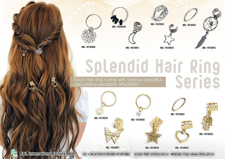 Splendid Hair Ring