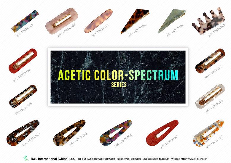 AceticcolorspectrumSeries