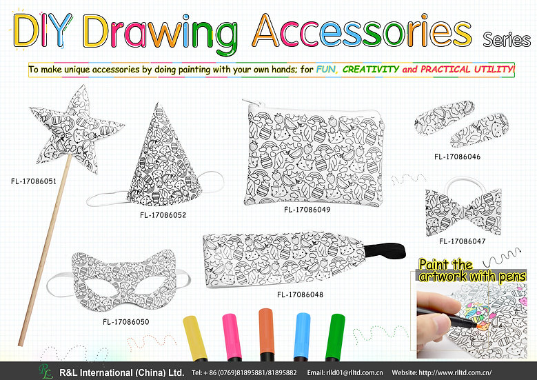 DIY Drawing Accessories Series