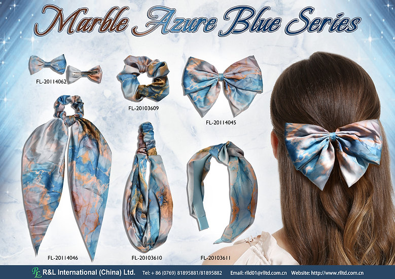 Marble Azure Blue Series