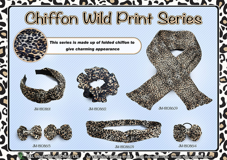 Chiffon Wild Print Series