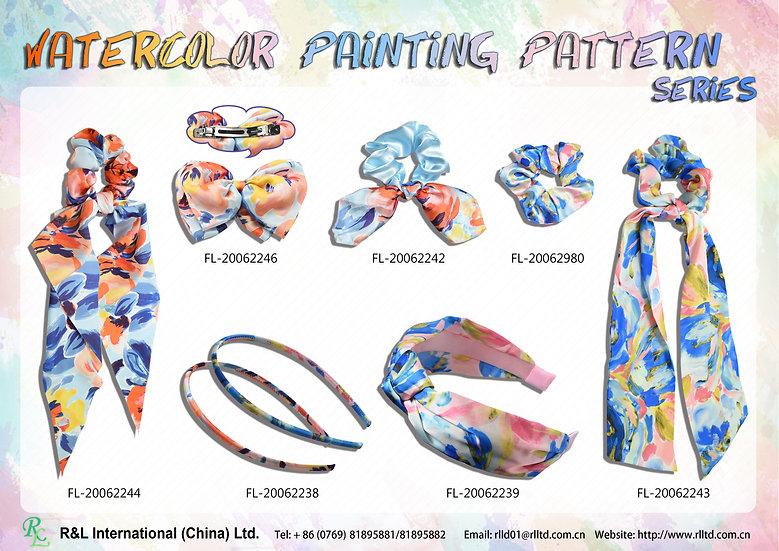 WatercolorPaintingPatternSeries