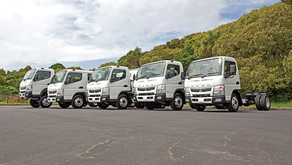 Introducing NZ's safest light truck – the new generation FUSO Canter