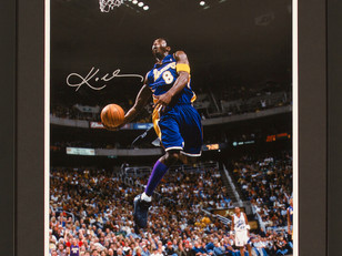 Auction - Signed and Authenticated Photo of Kobe Bryant