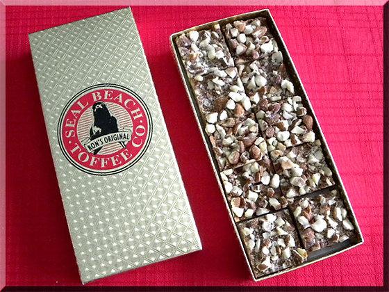 ½ lb. Gold Foil Box (10 Pc.) Premium Toffee