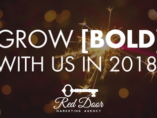 Let's Grow Bold Together in 2018