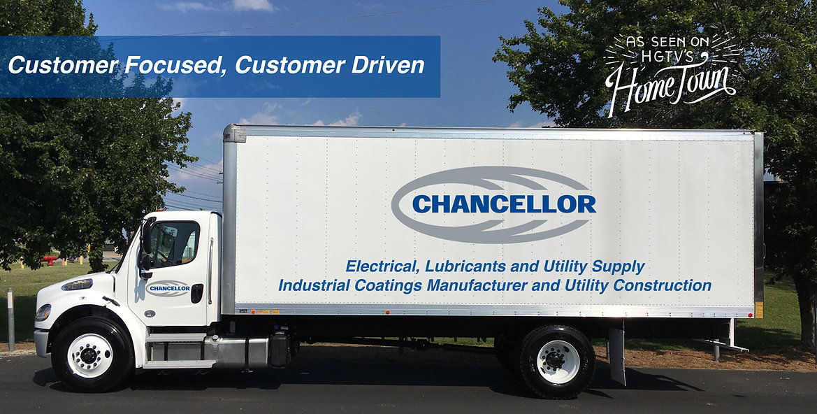 Chancellor Inc., Chancellor supply, chancellor distribution, electrical supply, electrical services, idustrial coatings, lubricant supply, utility construction, utility supply, propeties, real estae, commercial real estate, ditribution, project management, engineering services, custom kitting, trucks,