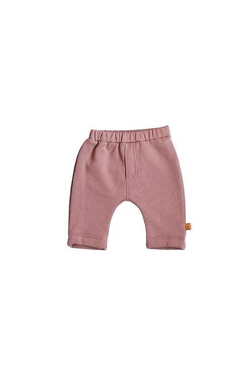 Old Rose Newborn Trouser - Bless