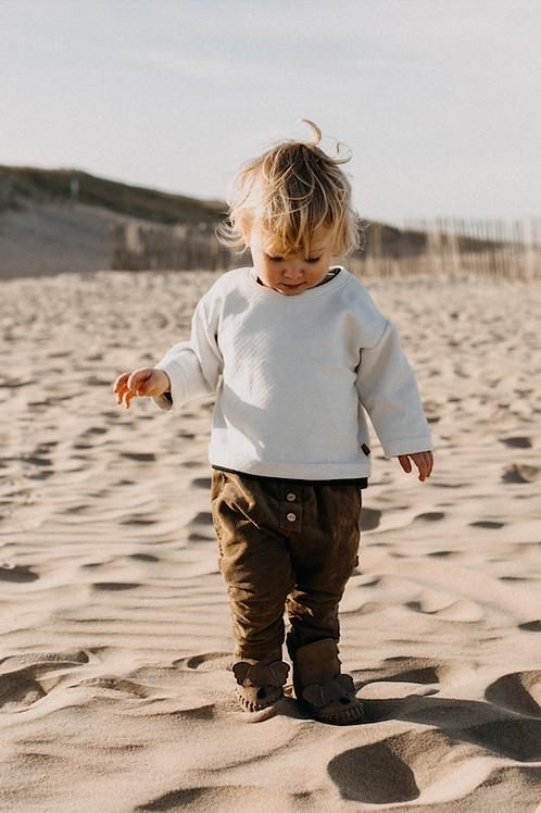 The White Striped Sweater - Finn