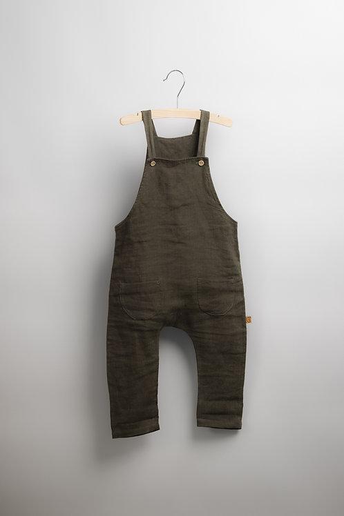 Olive Linen Suit - Dunga