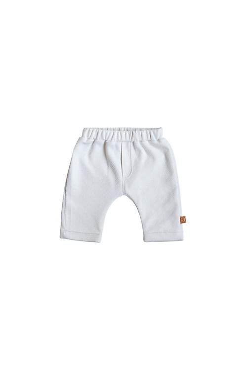 White Newborn Trouser - Bless