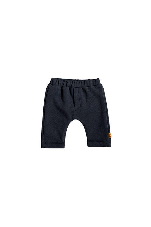 Black Striped Newborn Trouser - Bless