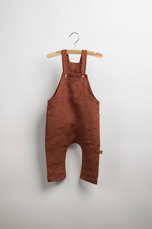 Red Earth Linen Suit - Dunga