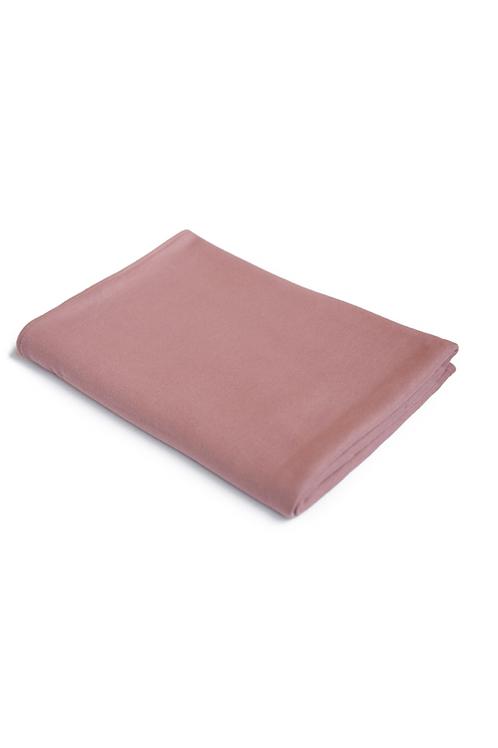 Organic Blanket -Old Rose