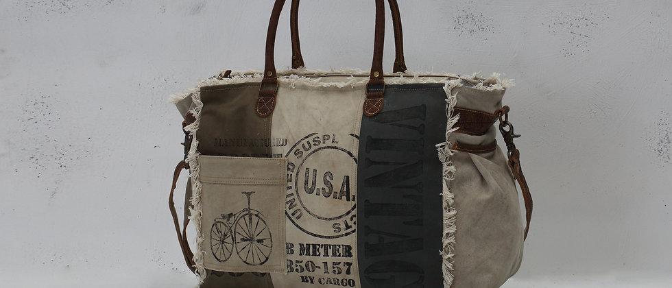 USA Stamped Weekender Bag