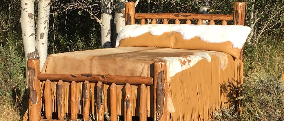 Cowhide Bed Covering