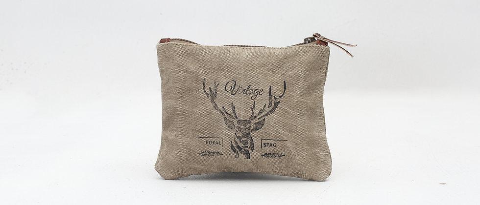 Vintage Stag Small Bag
