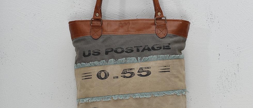 US Postage Canvas Tote
