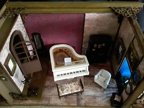 "Roombox Miniatura ""UMA VISTA DE PARIS"""