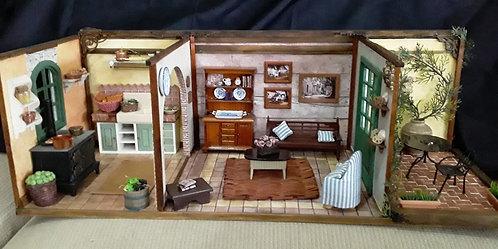 Roombox Triplo Miniatura VILLA TOSCANA