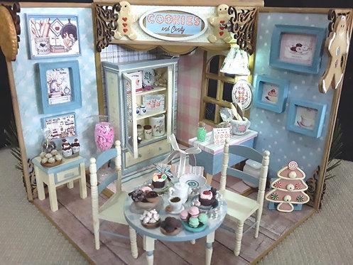 Roombox Miniatura LOJA COOKIES & CANDY