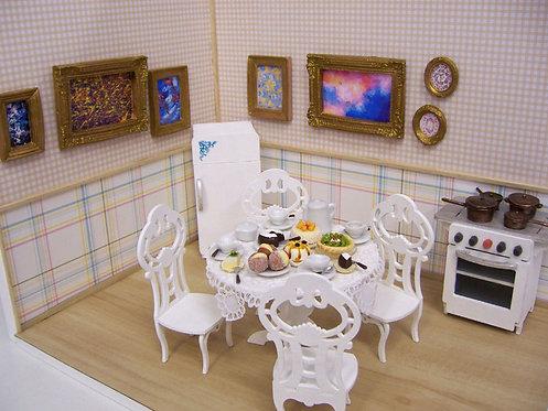 Roombox Miniatura COZINHA 3