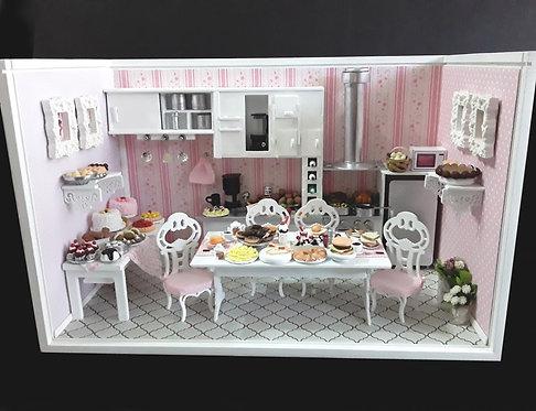 Roombox Miniatura COZINHA GRANDE