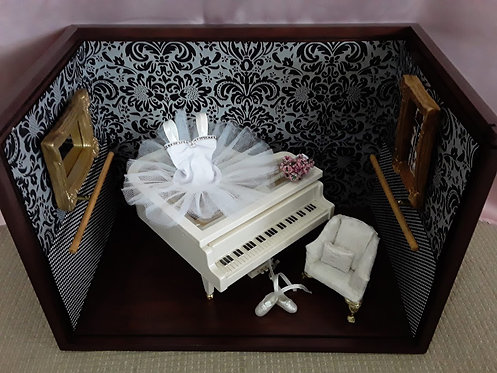 Roombox Miniatura BALLET 1