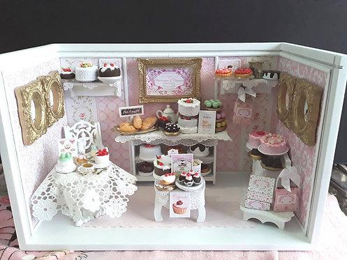 Roombox Miniatura CONFEITARIA 2