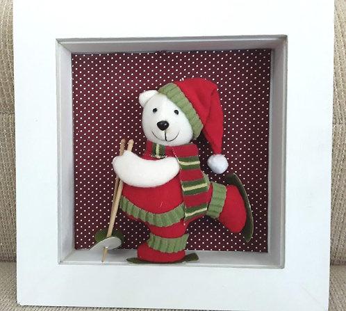 Quadrinho Natal Urso 2