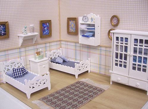 Roombox Miniatura QUARTOS 10