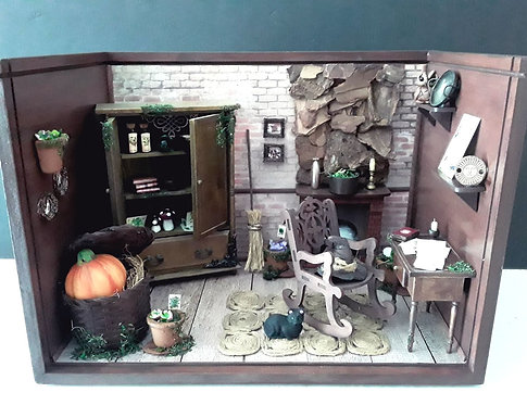 Roombox Miniatura BRUXA 4