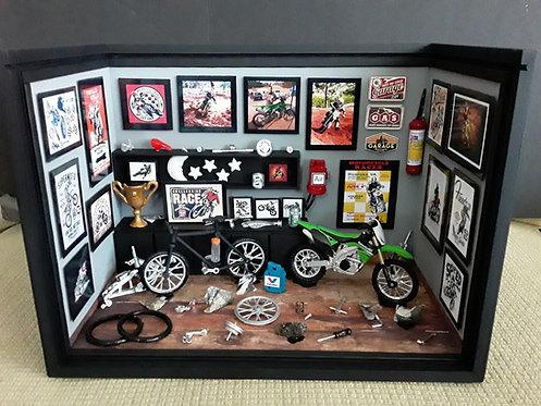 Roombox Miniatura OFICINA MOTO-BIKE 9