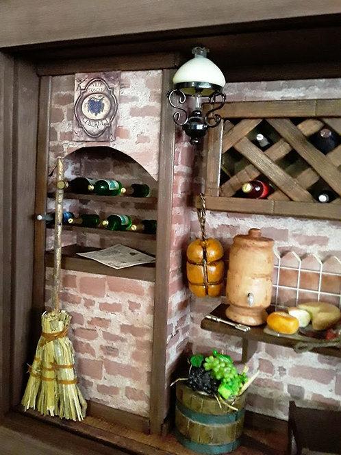 Quadro Cenário ADEGA / WINE HOUSE