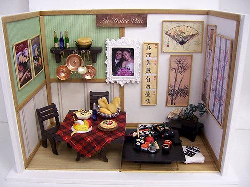 Roombox Miniatura FAMÍLIA PERSONALIZADO 2