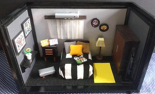 Roombox Miniatura QUARTO 6