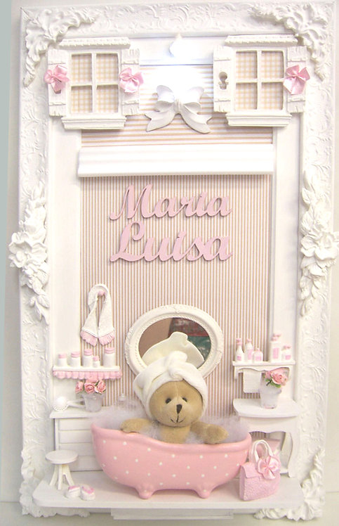 Porta Maternidade MENINA MAIOR 28