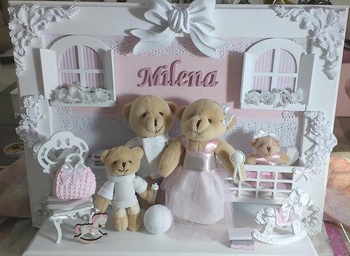 Porta Maternidade MENINA 22