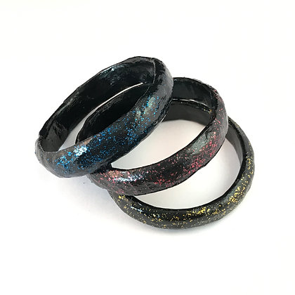 Glitterati set of 3 bangles
