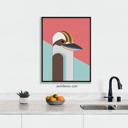 Laughing Kookaburra – native Australian bird