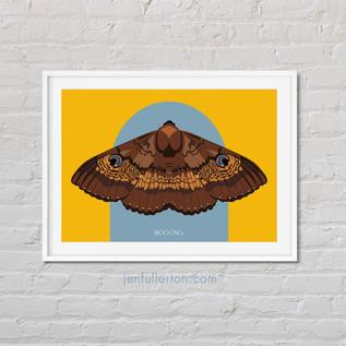 Bogong art print by Jen Fullerton Art & Design