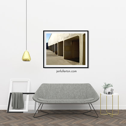Anticipation – digital architectural poster