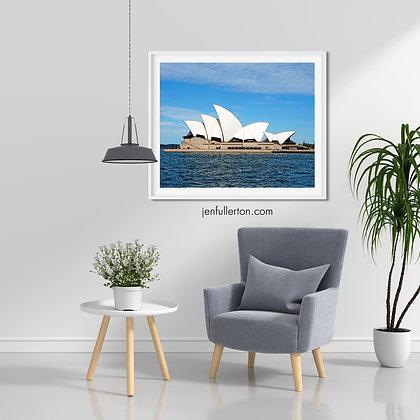 Sails – Sydney Opera house print