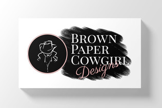 Brown Paper Cowgirl logo