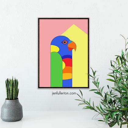 Rainbow Lorikeet – native Australian bird