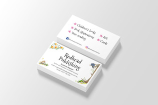 Redhead Publishing business cards